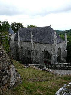 Chapelle Sainte Barbe le faouet Bretagne