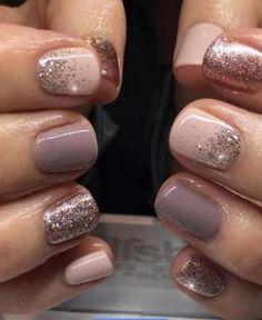New nails summer shellac color combos ideas - shellac nails Gold Nail Designs, Fall Nail Art Designs, Pedicure Designs, Pedicure Ideas, Pedicure Colors, Manicure And Pedicure, Nail Colors, Neutral Colors, Neutral Style