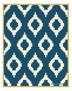 Instead of many little squares, I might see about calculating rows with varied sizes of colors.Vintage Crochet Chicken Patterns The Cutest CollectionSimple grid pattern using 2 colors. Modern Quilt and Tapestry Crochet inspiration.Crochet Patterns B Filet Crochet, Bag Crochet, Crochet Motifs, Crochet Chart, Crochet C2c Pattern, Crochet Skull, Tapestry Crochet Patterns, Quilt Patterns, Stitch Patterns