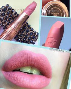 (@lipstickdatabase) on Instagram: Charlotte Tilbury Matte Revolution lipstick in Kidman's Kiss