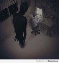 dark art Dead End Dark Art Illustrations, Dark Art Drawings, Illustration Art, Arte Horror, Horror Art, Dark Fantasy Art, Images Terrifiantes, Arte 8 Bits, Arte Dope
