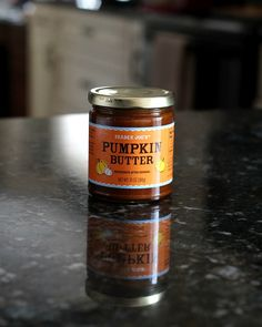 Pumpkin Butter Frosting...now if Trader Joe's would just hurry up and open in my town...