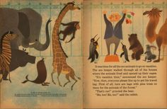 The Animals Vacation, Illustrated and Written by Shel and Jan Haber, 1964