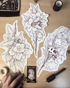 Half price flash of April! Now daggers 🦌 🗡 🗡🗡 got the last week of April open to do some of these beauties, thanks 🖤🙏🏻 Leg Tattoos, Body Art Tattoos, Sleeve Tattoos, Tattoo Sketches, Tattoo Drawings, Art Drawings, Dibujos Tattoo, Desenho Tattoo, Flower Tattoo Designs