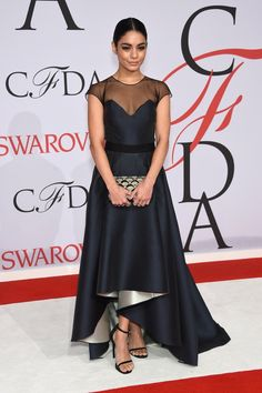 Vanessa Hudgens donned a Sachin and Babi gown