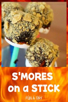 These s'mores on a stick have been a hit for years during a fun preschool camping theme! Even better, they are super easy to make. Easy S, Super Easy, Camping Theme, Preschool Activities, Sweet Treats, Snacks, Breakfast, Summer, Fun
