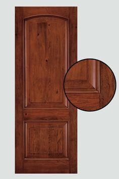 New Refinish Fiberglass Entry Door