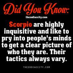 Did You Know? Zodiac Facts: Scorpio