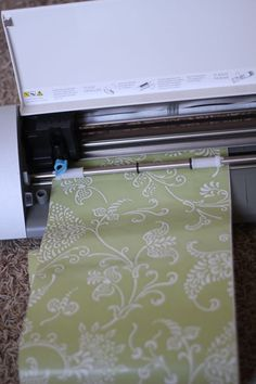 I've always used contact paper for my     stencils and LOVE it!