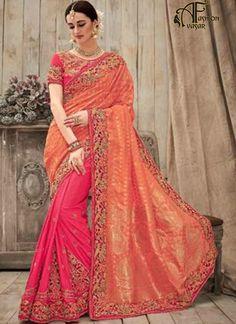 Pure Silk Designer Saree Online Shopping India