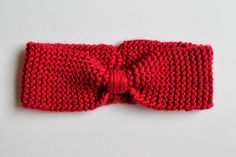 DIY - le bandeau en laine