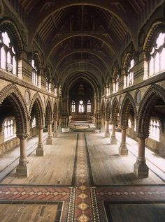 """St Stephen's, which is considered to be one of London's finest Victorian Gothic Churches, had been standing empty and neglected for more than 30 years.    Completed in 1869, the church doors finally closed for worship in 1977 as congregations dwindled, and the building fell into a derelict state.    The St Stephen's Restoration and Preservation Trust was awarded a lease to restore the church, which saw it transformed  breathing new life into the old building."""