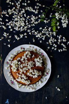 Black Locust Flower Cake // Manger
