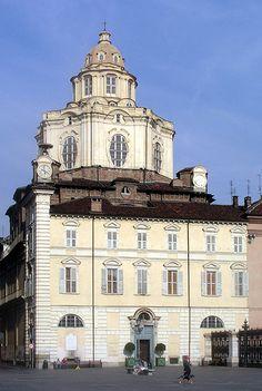 Torino Italy,  San Lorenzo facade