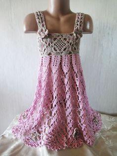 САРАФАН Ч- 1 SUN-DRESS Crochet Р-1