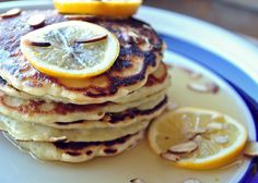 Gojee - Quinoa Pancakes with Meyer Lemon Syrup by My Life Runs on Food