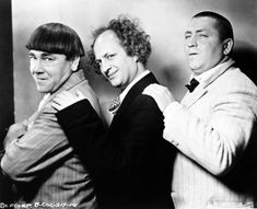 "When ""The Three Stooges"" films were shown in our school auditorium in the 1950s, the room was filled with outrageous laughter."