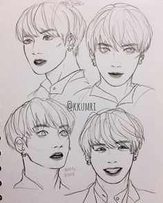 last face study, bunbun!!!! #jungkook #btsfanart