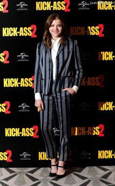 Chloë Grace Moretz lors du photocall du film, Kick Ass 2 le 5 août 2013