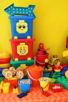 Lego Movie Birthday Party! See more party planning ideas at CatchMyParty.com!