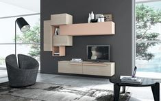 nice 42 Modern Living Room Wall Units Ideas With Storage Inspiration