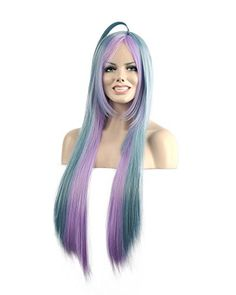 Diy-Wig New Popular Multi-Color Long Straight Cosplay Par…