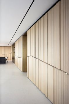 wood cladding and brass - Picture gallery - Tal Goldsmith Fish design Wood Cladding Interior, Cladding Design, Timber Cladding, Wall Cladding, Interior Walls, Interior Design Living Room, Door Design, Wall Design, Fish Design