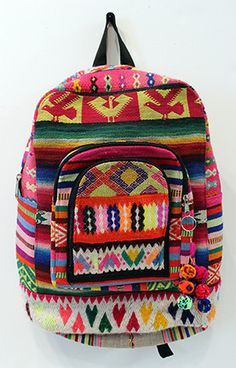Evita Mochilla. backpack from the highlands of Peru. bluma project spring sale this weekend only site-wide. code bpws14
