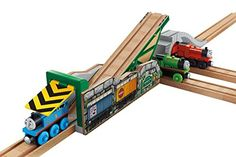 Fisher-Price Thomas Wooden Railway - Tipping Tidmouth Bridge Fisher-Price Thomas http://www.amazon.com/dp/B00IWPK62M/ref=cm_sw_r_pi_dp_2dvGub08WQFNS