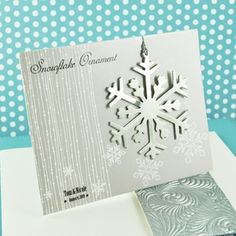 Items similar to Silver snowflake ornament-minimum order of wedding favors, Christmas party favors, holiday party favors on Etsy Winter Wedding Receptions, Winter Wedding Favors, Wedding Favours, Wedding Ideas, Wedding Stuff, Winter Weddings, Wedding Invitations, Wedding Inspiration, Wedding Gifts