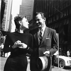 Audrey in New York--perfection.