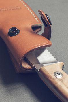 Sheath for short knife - Pivot & Tang