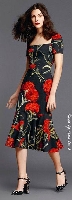SS 2015 Dolce & Gabbana | Karen Cox