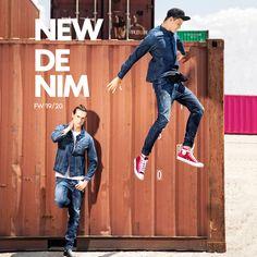 Men Archives - New Denim Men's Collection, Fall Winter, Denim, Jeans