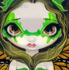 Faces of Faery #30 | Art by Jasmine Becket-Griffith