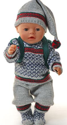 American girl doll sweater pattern - new years great winter outfit Legging Outfits, Doll Patterns, Knitting Patterns, Girl Dolls, Baby Dolls, Summer Stripes, Stay Warm, American Girl, Doll Clothes