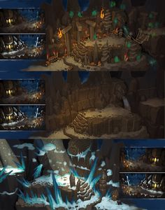 Torchlight 2 environment design.3