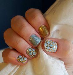 Stylebox wrap with #barelybluejn and #goldsparklejn sarahmauldin.jamberry.com
