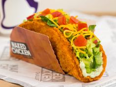 Taco Bell's Naked Chicken Chalupa To Debut Nationwide