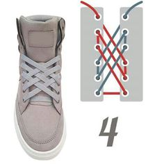 Discover recipes, home ideas, style inspiration and other ideas to try. Ways To Lace Shoes, How To Tie Shoes, Your Shoes, Diy Fashion, Fashion Shoes, Mens Fashion, Creative Shoes, Tie Shoelaces, Diy Clothes