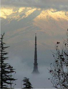 """Torino """"sopra le nuvole"""""""