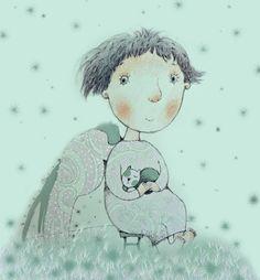Сafé crème - Иллюстрации Татьяны Бетехтиной.