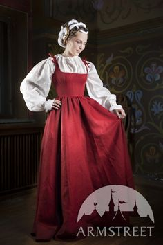 Traditional Central Europe XVI century dress.