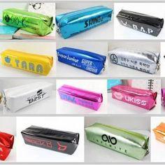 Kpop pencil cases