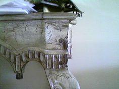 Decoracion de Paredes y Muebles: Envejecimiento de muebles estilo craquelado Entryway Tables, Diy, Furniture, Home Decor, Restoring Old Furniture, Old Paintings, Tutorials, Main Entrance, Ageing