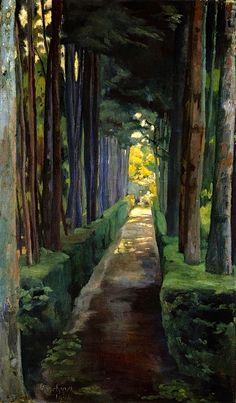 Diego Rivera (1904), La castañeda