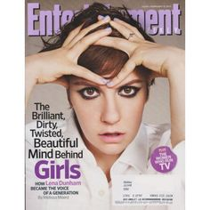 Entertainment Weekly | Lena Dunham | Girls | The Women Who Run TV | February 8, 2013 #1245