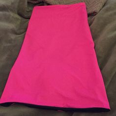 Reversible swim dress. Brand new. Strapless and adorable. Hot pink and navy. Swim