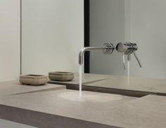 wall mount faucet, minimalist sink