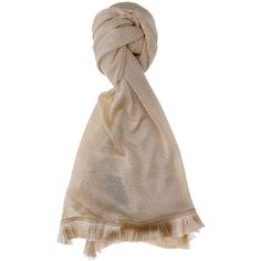 Kocca Viscose Shawl in Gold Colour (685 NOK) ❤ liked on Polyvore featuring accessories, scarves, gold, viscose scarves, kocca, rayon scarves and shawl scarves